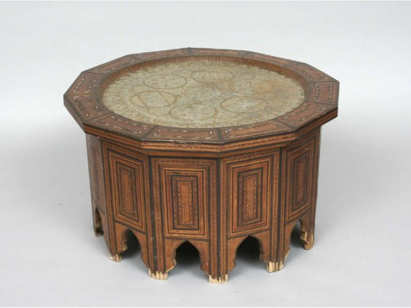 123: Late 19th Century Moroccan Table