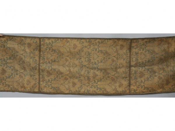 130: Two Arts and Crafts Antique Fortuny Textile Panels
