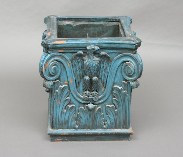 401: Neoclassical Style Wood Planter or Jardiniere