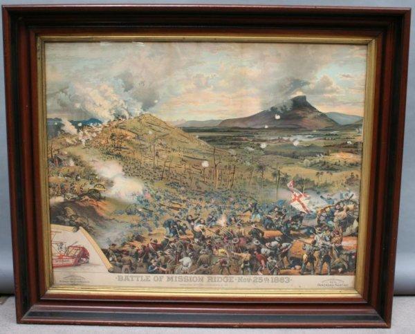 420: Civil War Battle of Mission Ridge Print
