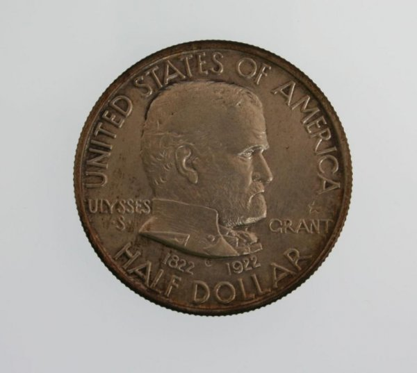 2: 1922 Grant Star Commemorative Half Dollar Coin