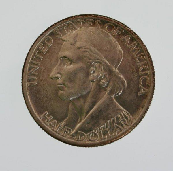 12: 1938 Daniel Boone S Commemorative Half Dollar Coin