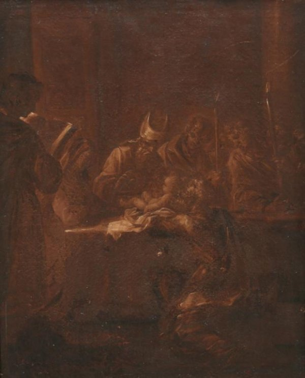 20: 18th c. Continental School Devotional Painting