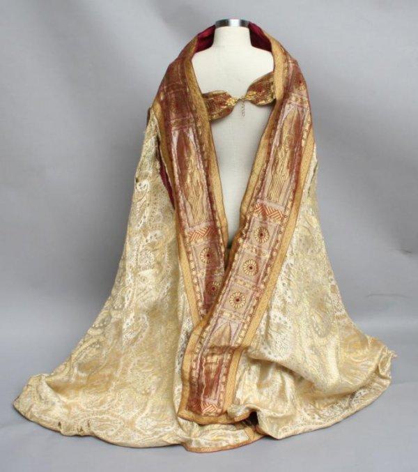 23: Vintage Clerical Vestment or Cloak