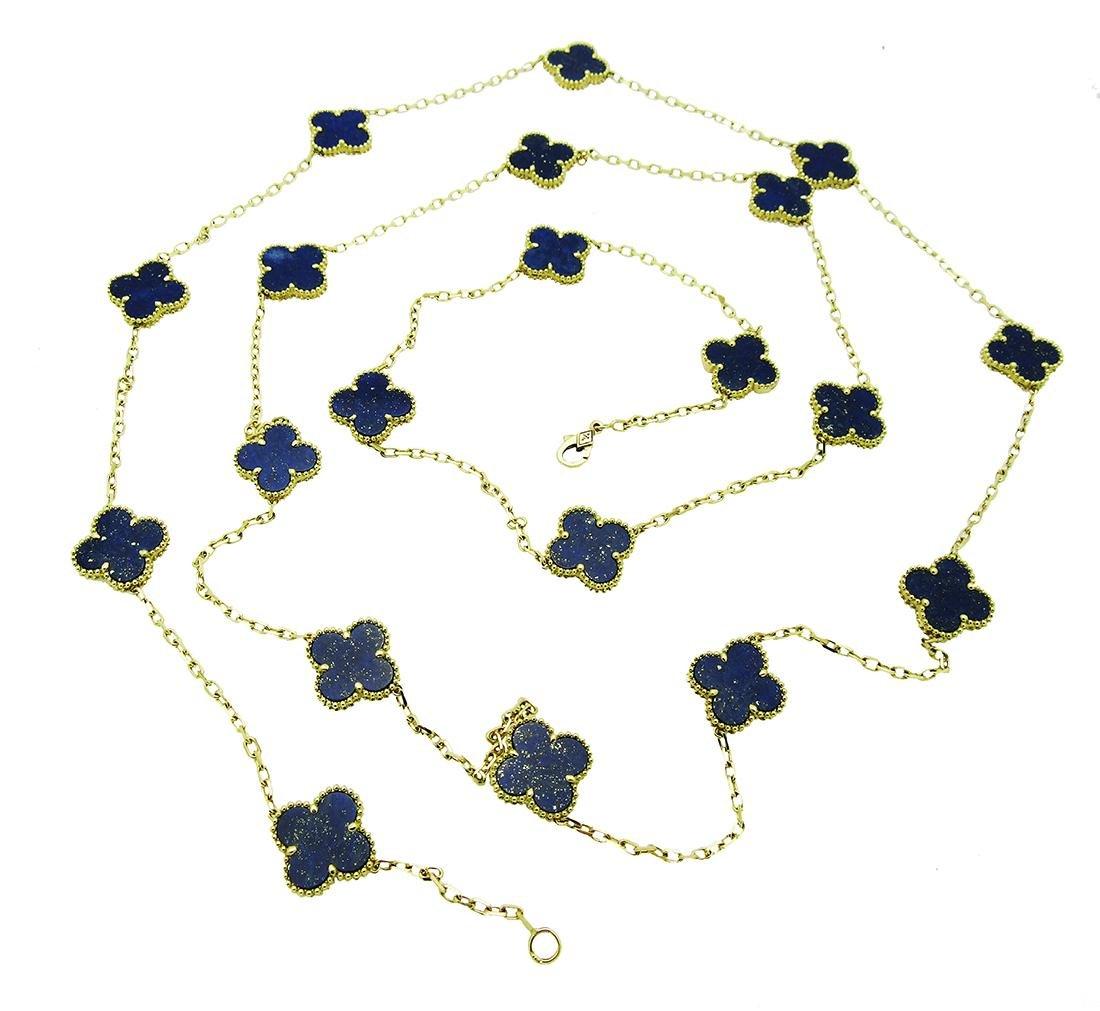 Van Cleef & Arpels 18k  20 Motifs  Lapis Lazuli