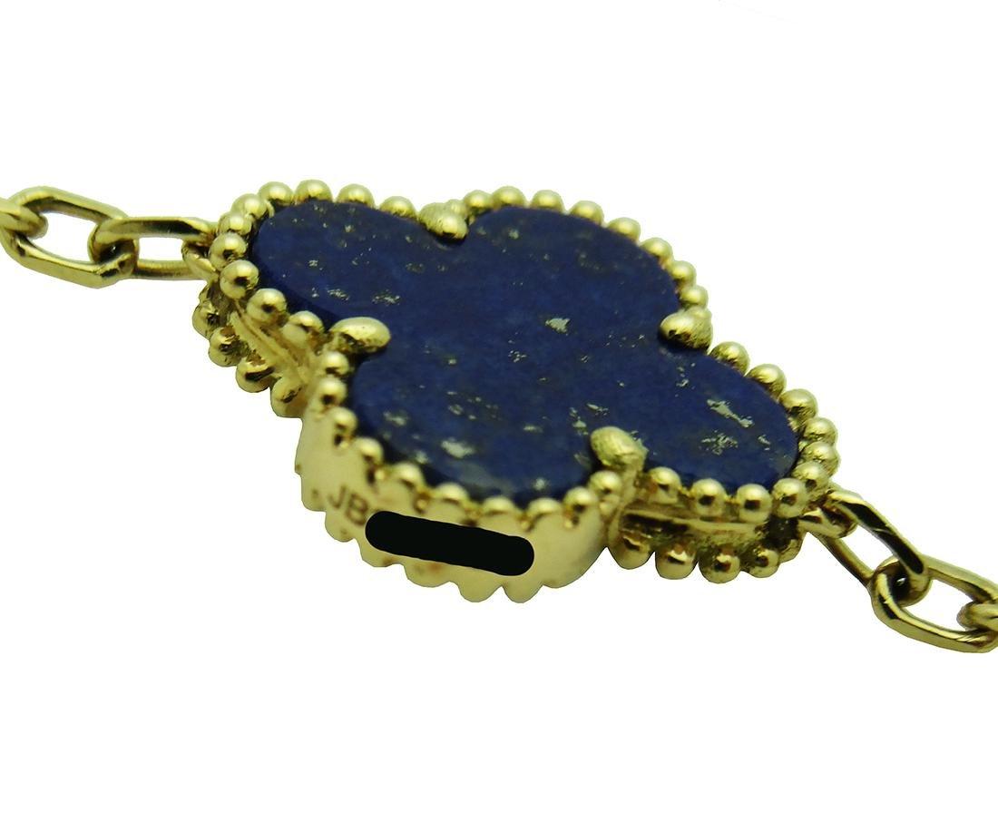 Van Cleef & Arpels 18k  20 Motifs  Lapis Lazuli - 2