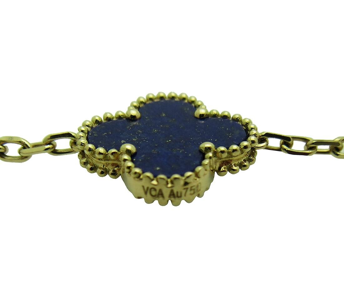 Van Cleef & Arpels 18k  20 Motifs  Lapis Lazuli - 3