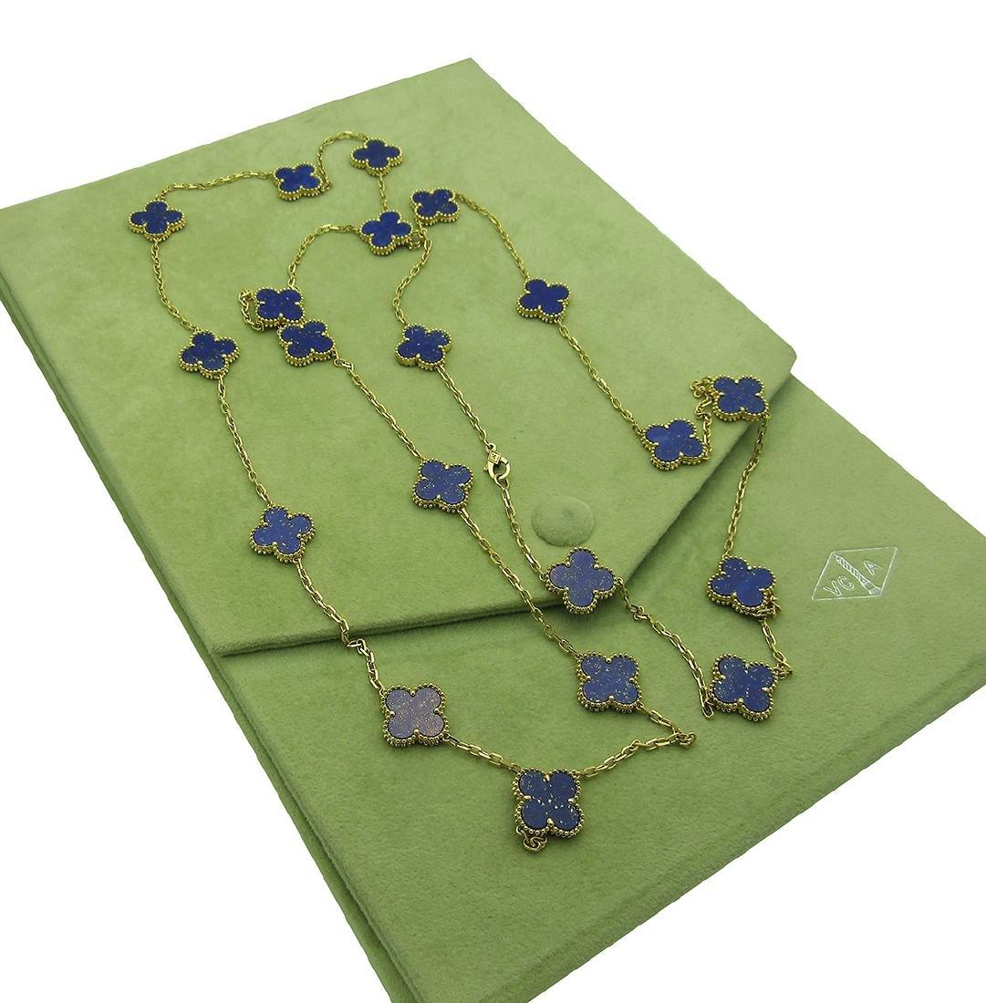 Van Cleef & Arpels 18k  20 Motifs  Lapis Lazuli - 4