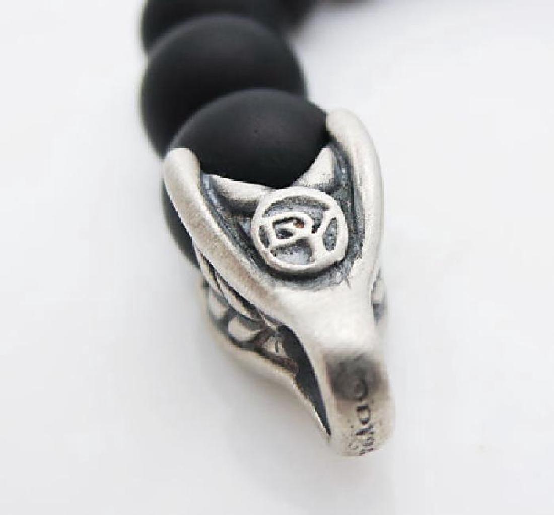 DAVID YURMAN 8mm Spiritual Bead Black Onyx Bracelet - 2