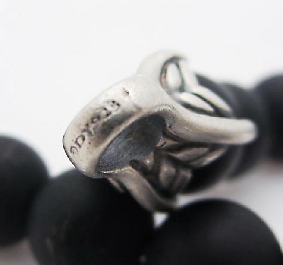 DAVID YURMAN 8mm Spiritual Bead Black Onyx Bracelet - 5