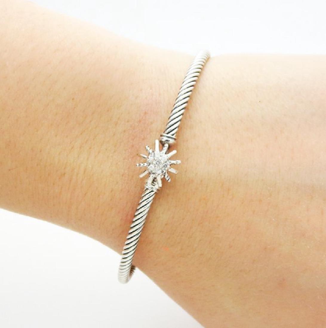 David Yurman Starburst Single-Station Cable Bracelet - 3