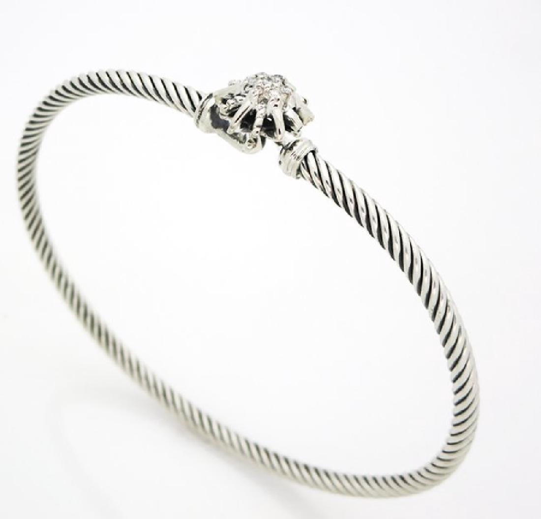 David Yurman Starburst Single-Station Cable Bracelet - 4