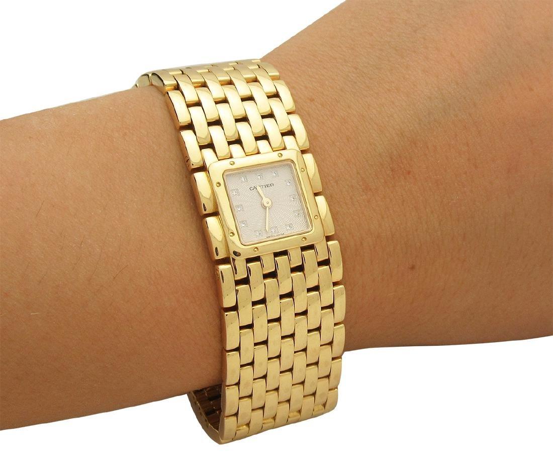 Cartier 18k Yellow Gold Ruban Women's Watch