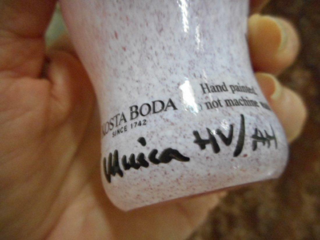 KOSTA BODA OPEN MINDS MINI GLASS VASE ULRICA VALlien - 4