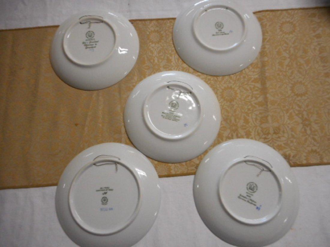 lot of 5  Copenhagen B&G christmas plates all marked on - 2