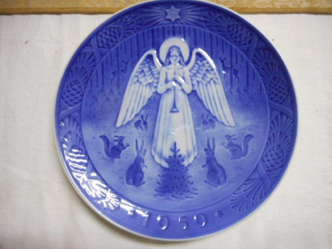 1959 Copenhagen B&G christmas plate