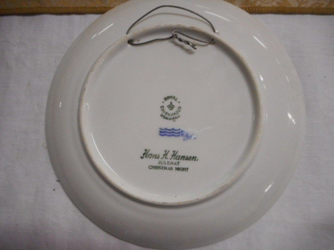 1959 Copenhagen B&G christmas plate - 2