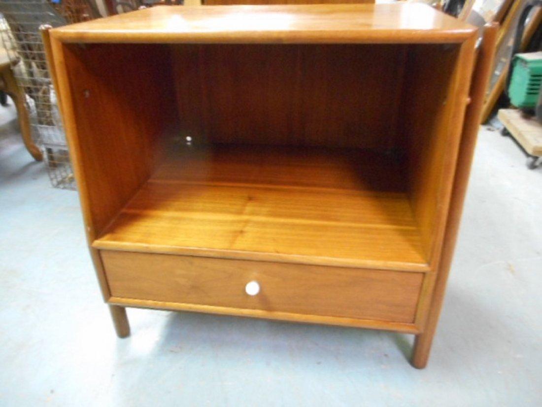 Stewart Bedside Table,nightstand mid century Drexel