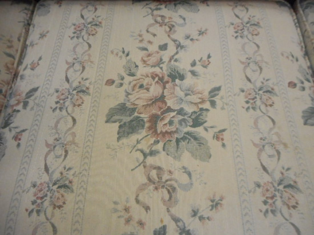 Antique Kroehler ? Sofa with cane back  1900's - 4