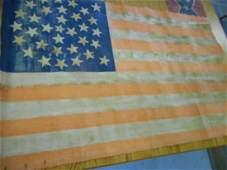 33 stars US American Flag