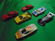 lot of 6 vintage toy cars hot wheelsmaisto