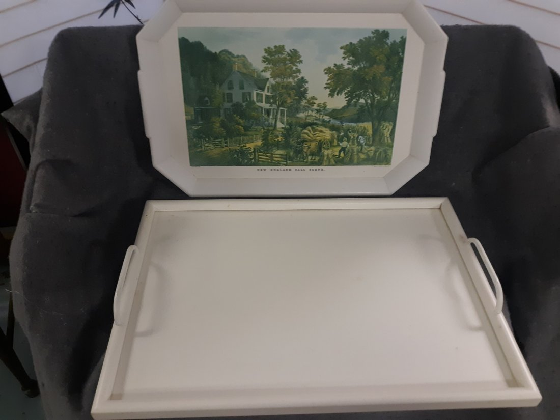 gorgeous mid century Serving Tray Lot 2