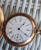 Waltham Seaside Pocket Watch O size 1904