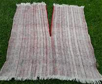 antique Hand Made Wool Shawl