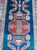 antique Tribal Persian Runner Rug Carpet 32 x 94