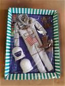 vintage 1964 Barbie Ken Fashion MR Astronaut Rare #1415