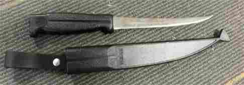 J Marttiini Filet Knife with sheath Nice!