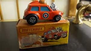 ORIG 1975 Matchbox Superfast Mini-Ha-Ha  No 14 Red box