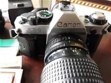 cannon AE-1 Program 35MM camera W 200MM Zoom