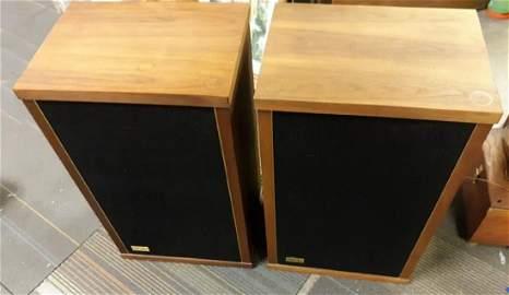 Vintage Audiophile Epicure M150 2 Speakers 2 times Bid