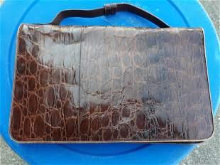 Koret? vintage UM hand bag clutch purse leather?