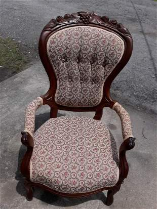 Parlor Side Chair antique Victorian