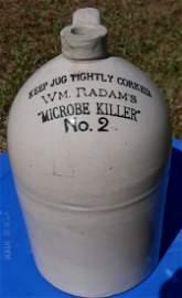 WM Radam's Microbe Killer #2 Jug Crock