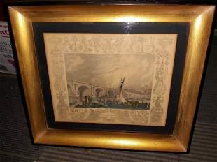 Waterloo Bridge Picture engraving? art vintage