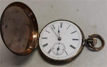 Pocket watch antique key wind 1800's