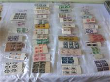 Stamps estate lot of plate block 39 bags!