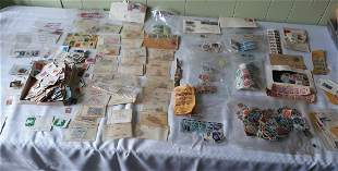 US & foreign Stamps lot of 7-800? estate