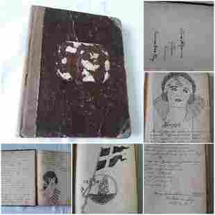 Book very rare German poetry w/art! Waldemar Berg!