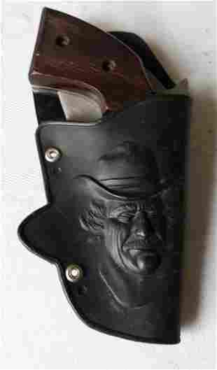 vintage gun knife by united in vtg childs holster!