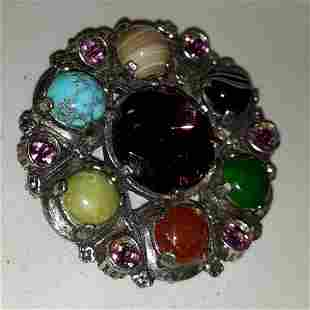 Florenza Miracle Brooch 1960's gorgeous!