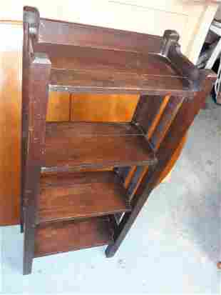 antique arts & crafts Stickley? Oak bookcase