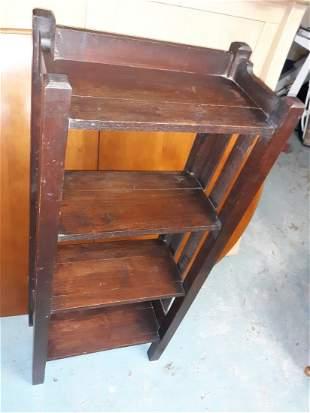 antique arts & crafts Stickley? Oak bookcase