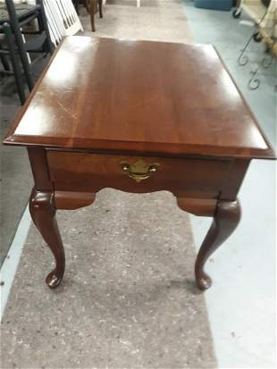 Broyhill Mahogany Or Cherry End Table