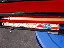 vintage PBR pool stick cue in case too!