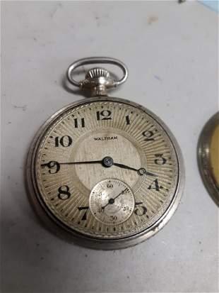 antique Waltham pocket watch 1917 NR nice