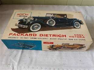hubley rare metal 1930 dietrich packard model w/box